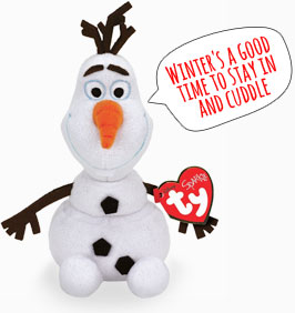 Olaf Plush toy from the Disney film Frozen