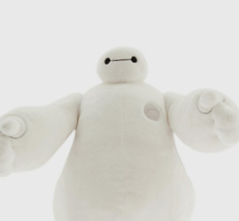 Baymax Plush from Disney's Big Hero 6 Movie