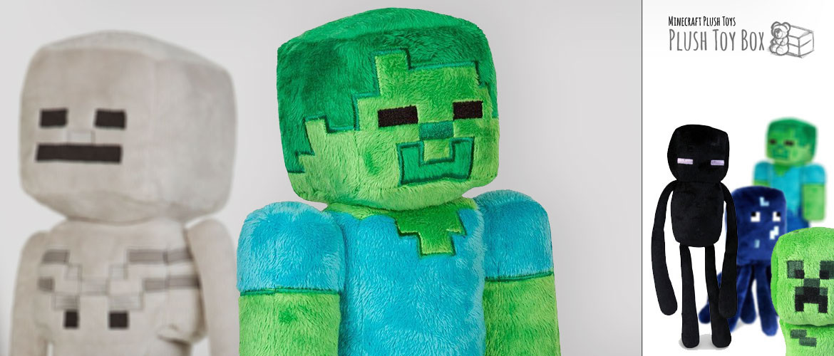 Minecraft Plush Toys and Stuffed Animals