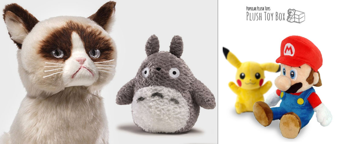 Popular Plush toys and Stuffed Animals
